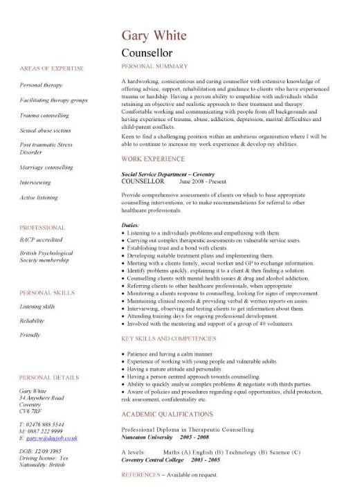 Resume Template For Admissions Counselor Http