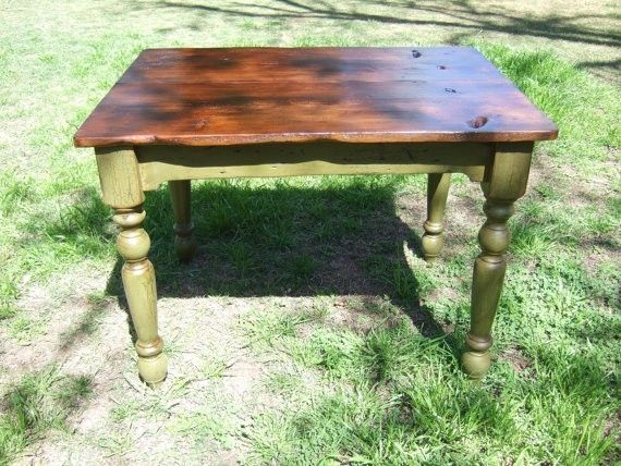 Custom Made The Petite Plantation Farm Table