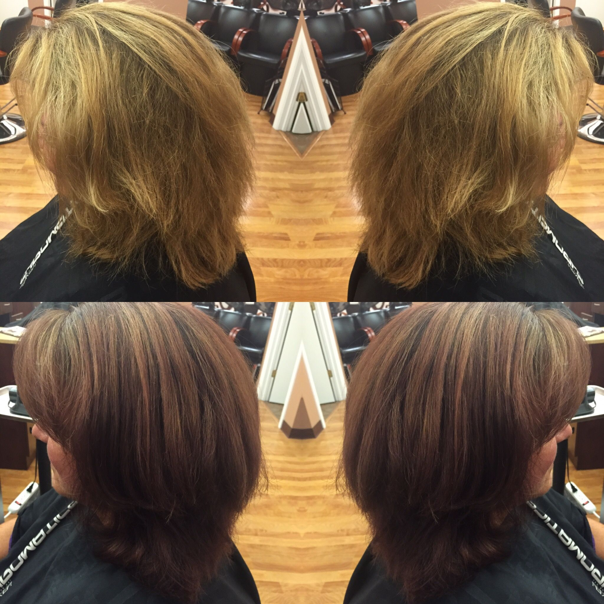 Color Transformation By Tracy Indulgencesalonpittsfield Hair Loss Solutions Pedicure Spa Hair Salon