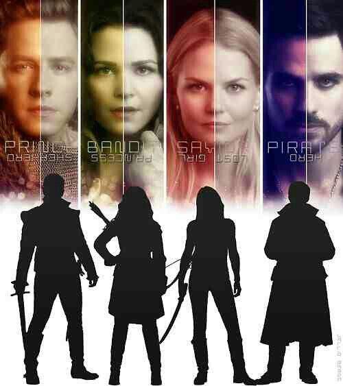 Once Upon a Time ♡ Prince, Bandit, Savior, Pirate