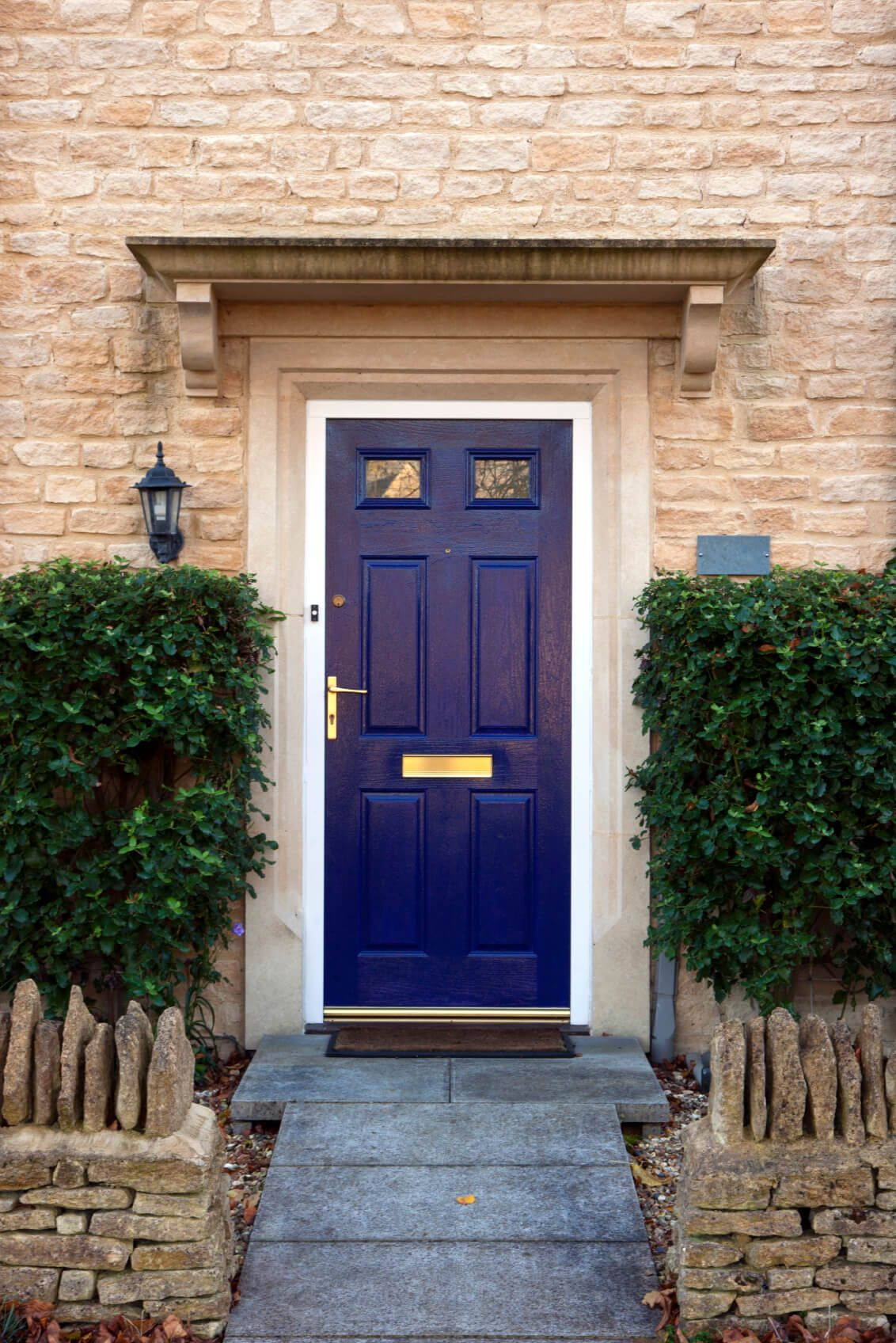 21 Cool Blue Front Doors For Residential Homes Stone Fence Glass