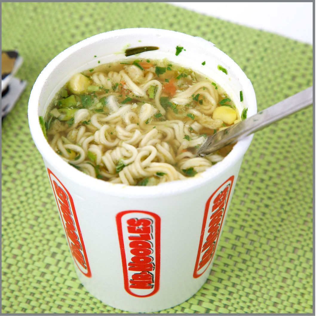 Instant Noodles Visual Recipe With Comprehension Sheets