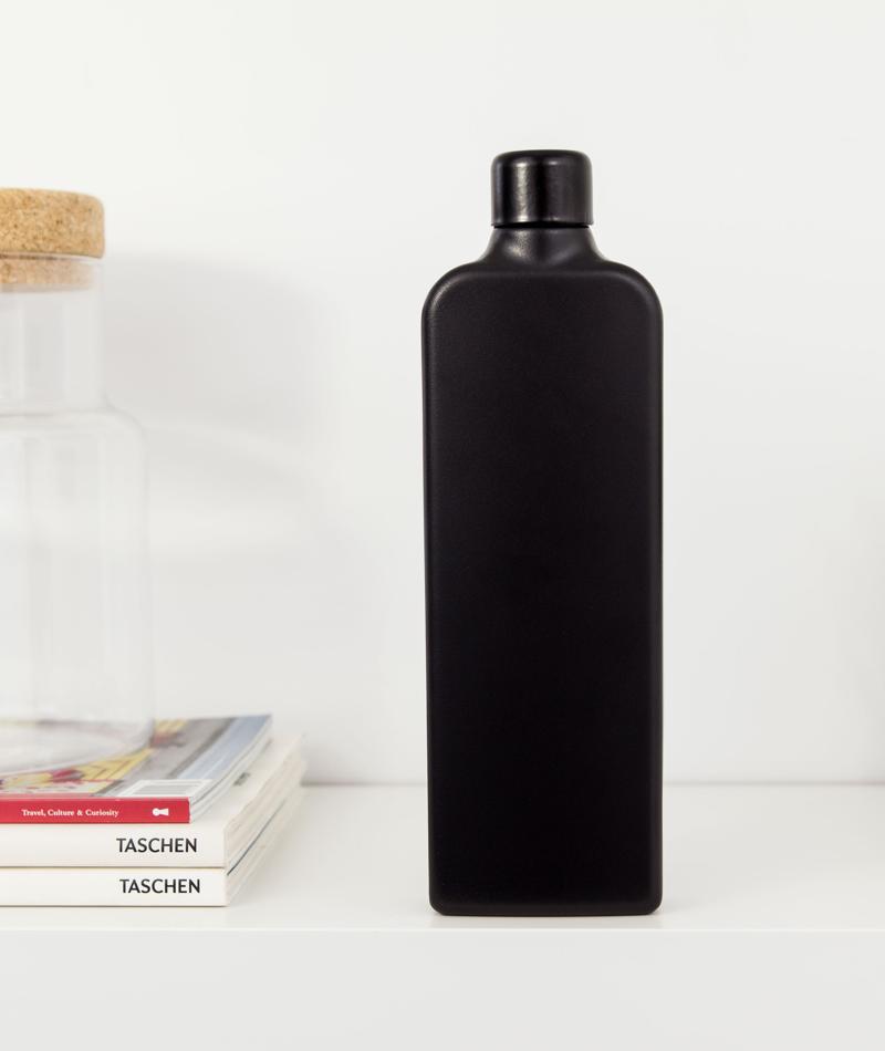 Flat Water Bottle Ism Bottle Water Bottle Flat Water Bottle