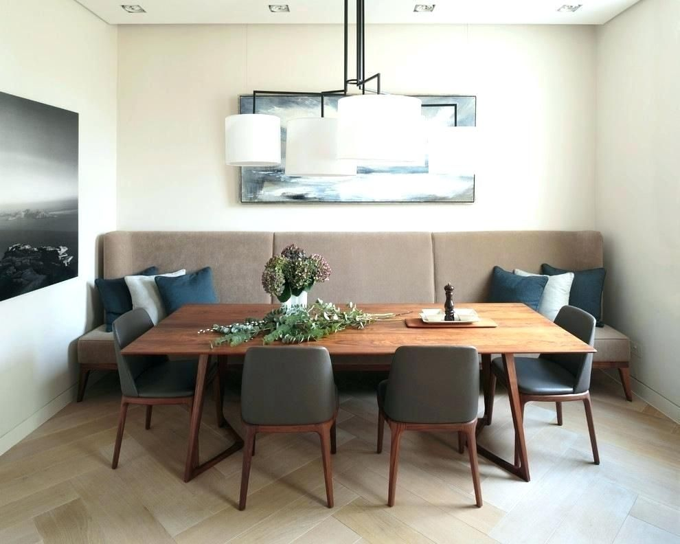 Modern Booth Dining Sets Banquet Dining Set Banquette Bench Seating Dining Table Mid Century Modern Dining Room Dining Room Banquette Dining Room Contemporary