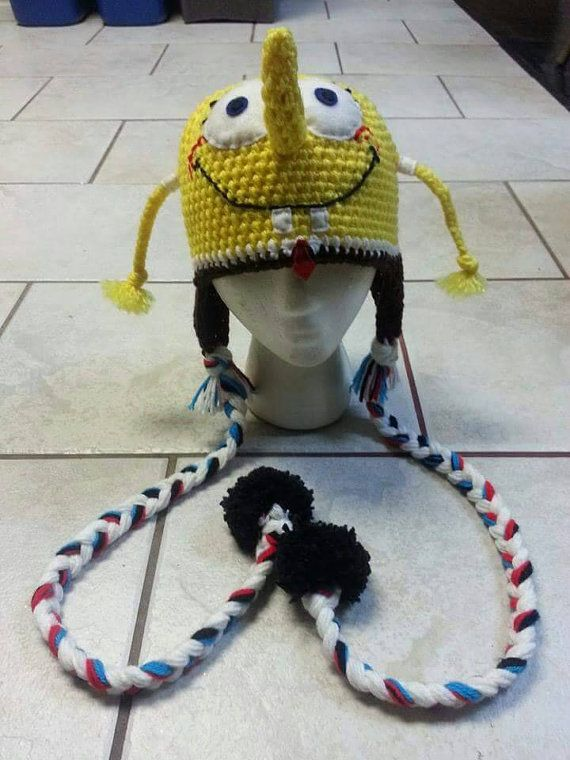 Check out this item in my Etsy shop https://www.etsy.com/listing/249738879/crochet-spongebob-squarepants-adult