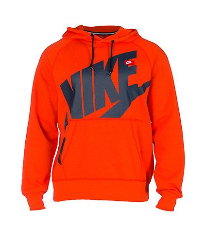 7cba35c303cb NIKE CLOTHING MENS NIKE ACE LOG EXP POP PULLOVER HOODIE Orange