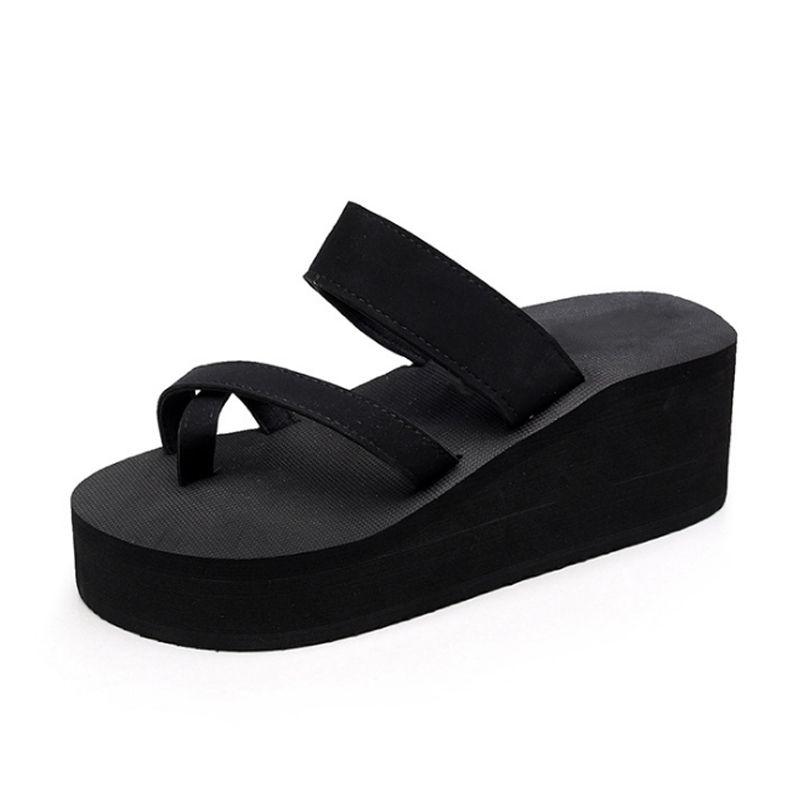 $7.16 (Buy here: https://alitems.com/g/1e8d114494ebda23ff8b16525dc3e8/?i=5&ulp=https%3A%2F%2Fwww.aliexpress.com%2Fitem%2FSandals-women-EVE-solid-casual-summer-beach-shoes-2017-fashion-shoes-sandalias-platform-sandals-wedge-flip%2F32796729380.html ) Sandals women EVE solid casual summer beach shoes 2017 fashion shoes sandalias platform sandals wedge flip flops slippers for just $7.16