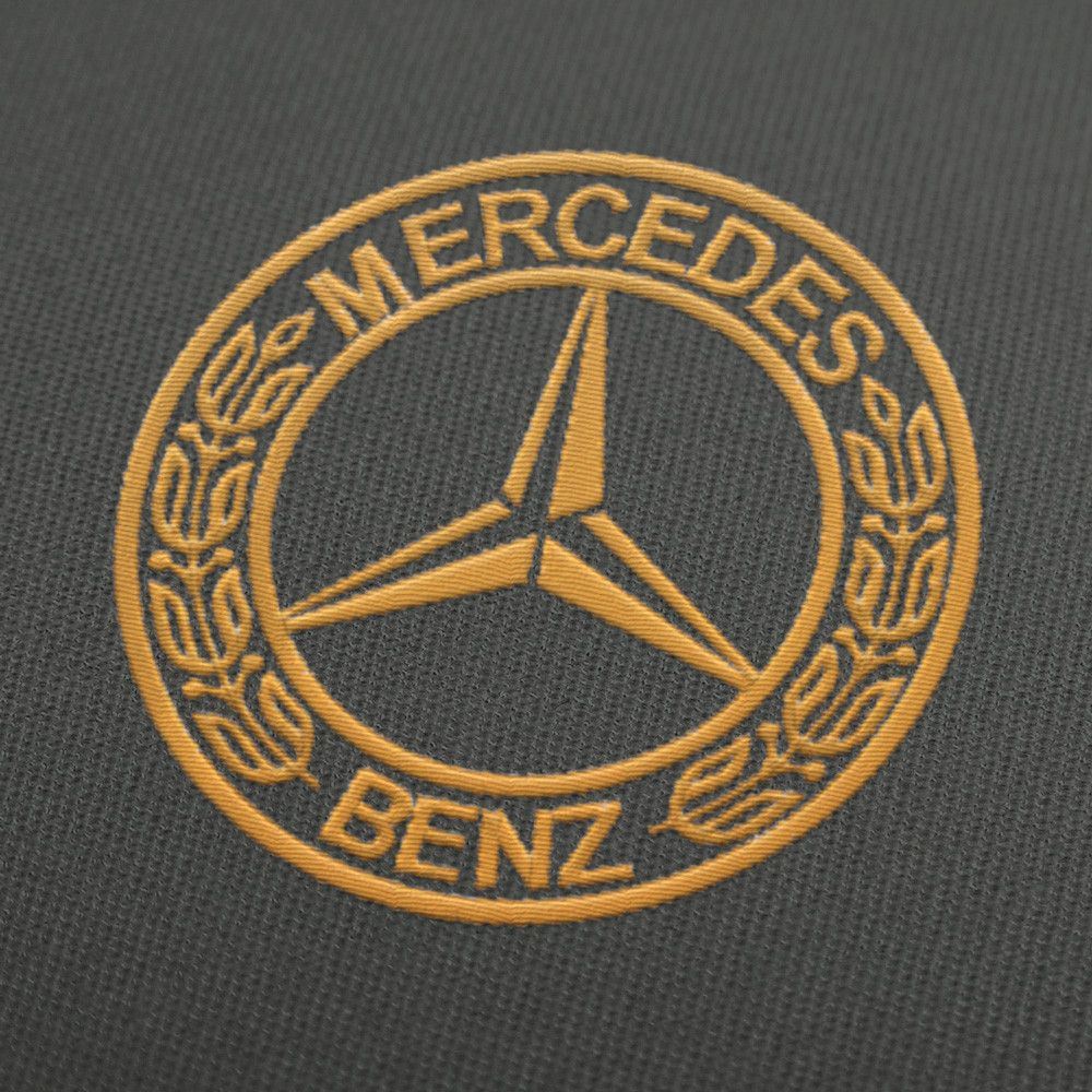 Mercedes Benz - Embroidery design download | broderie | Pinterest ...