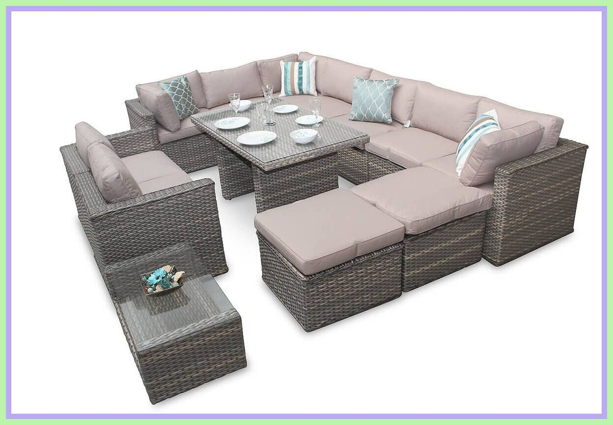 6 reference of corner sofa garden furniture in 6  Rattan