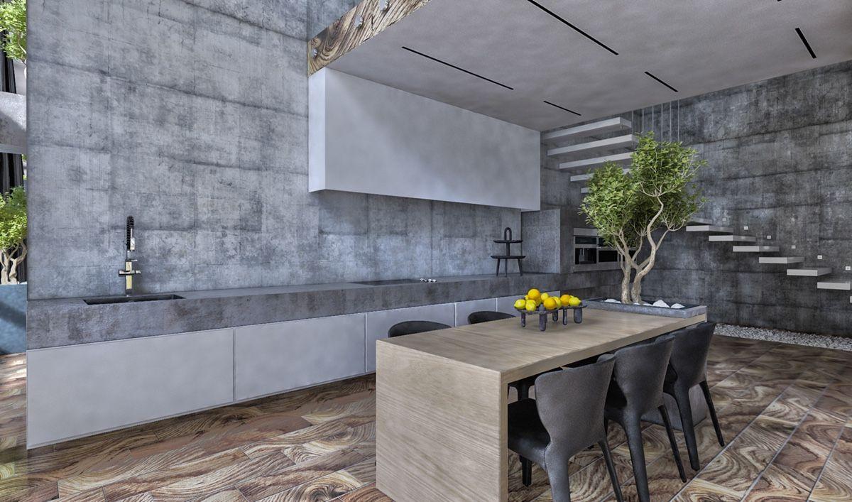 Küchendesign für zuhause charmantes haus design mit luxuriösen grauen funktionen und