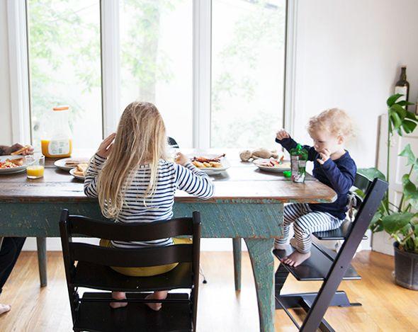 Bleubird Kitchen Blog, Tripp Trapp Stoke High Chair, Trona Stokke.