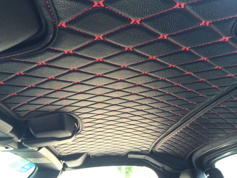 Carbonmiata Hardtop Headliner Prht Quilted Design For Nc Mazda Miata Mx 5 Topmiata Custom Car Interior Car Interior Upholstery Truck Interior