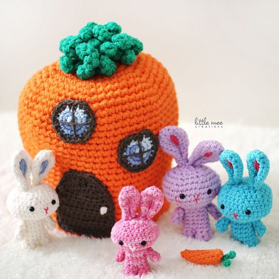 Free Pattern] This Is Just The Cutest Easter Set Ever: The Traveling ...