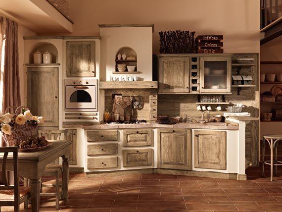 Zappalorto cucina modello paolina kitchen decor rustic home design e rustic country - Modelli di cucina in muratura ...