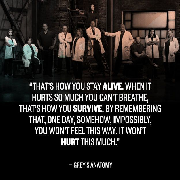22 Incredible Grey\'s Anatomy Quotes That Still Break Your Heart ...