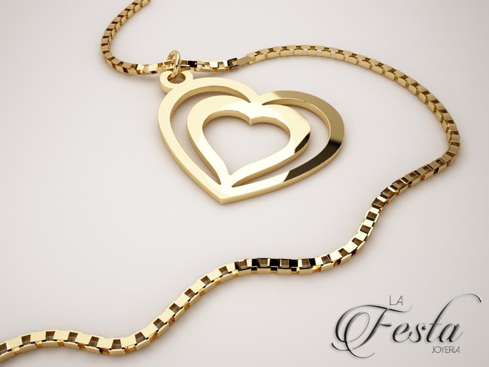 b81794efd7e1 Detalles que enamoran. Dije en oro de 14K con diseño de doble ...