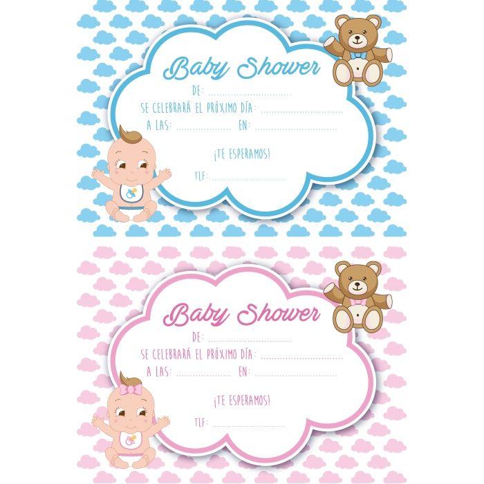 Organizas Un Baby Shower Descubre Las Invitaciones Más Originales Baby Shower Invitaciones Invitaciones Para Baby Invitacion Baby Shower Originales