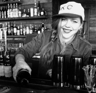 Caitlin Corcoran, Bar manager, Port Fonda Kansas City people in - bar manager