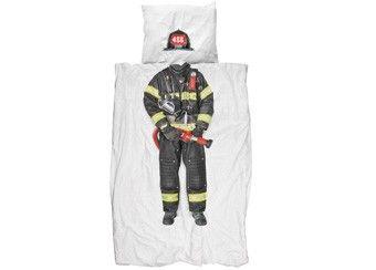 fantastische 1-persoons bedset 'Firefighter'