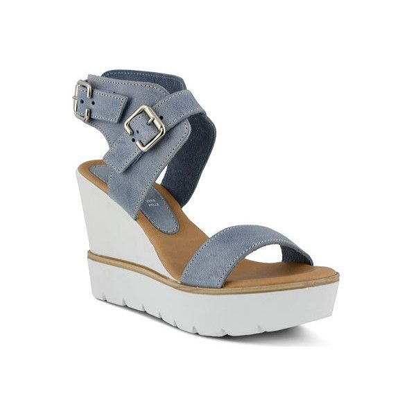 Outlet Online Shop Azura Leticia Wedge Platform Sandal(Women's) -Taupe Leather Pay With Paypal Cheap Price 2018 Unisex Online qHZcpoS