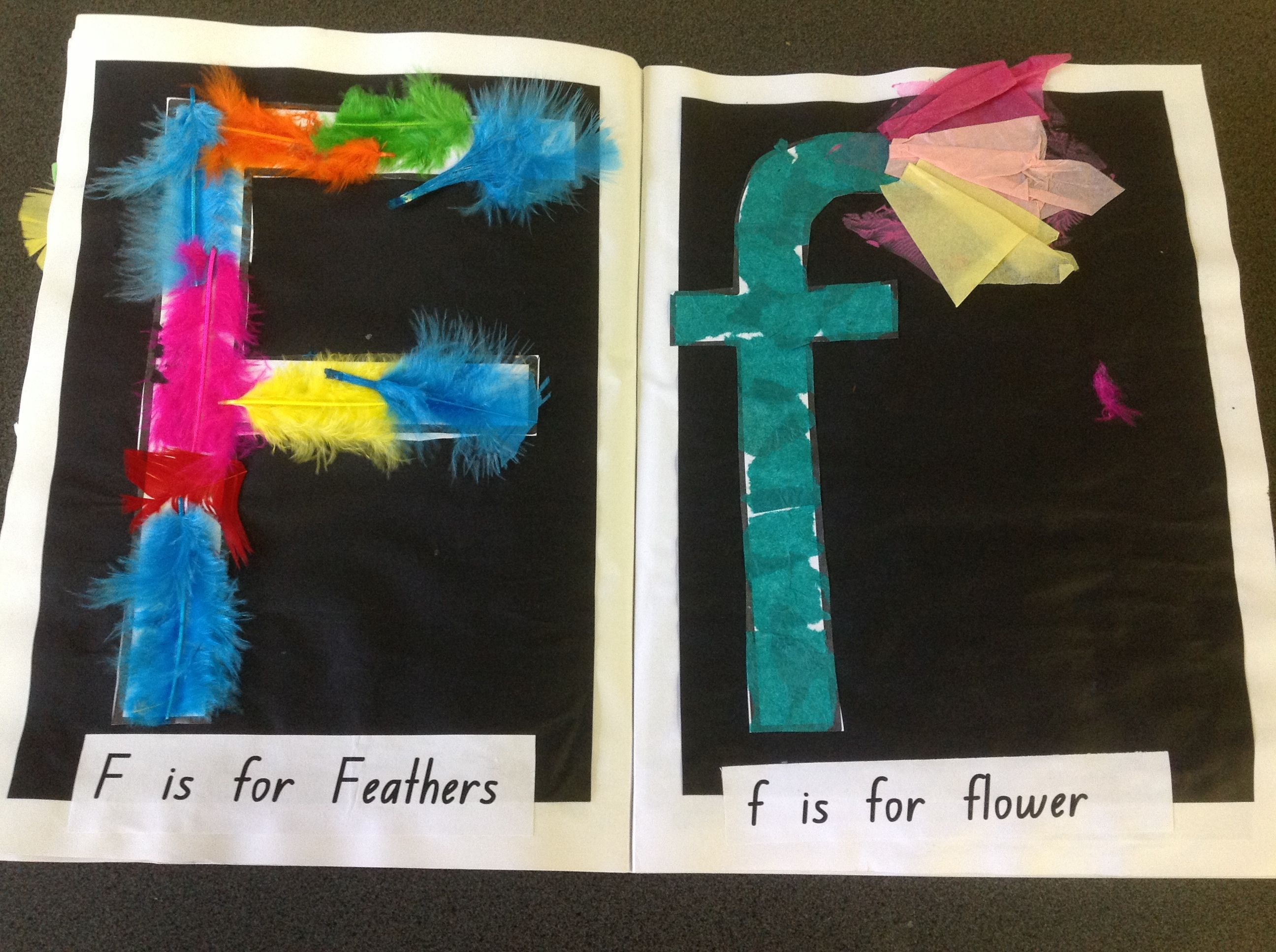 Letter f craft literacy pinterest craft alphabet for Arts and craft letters