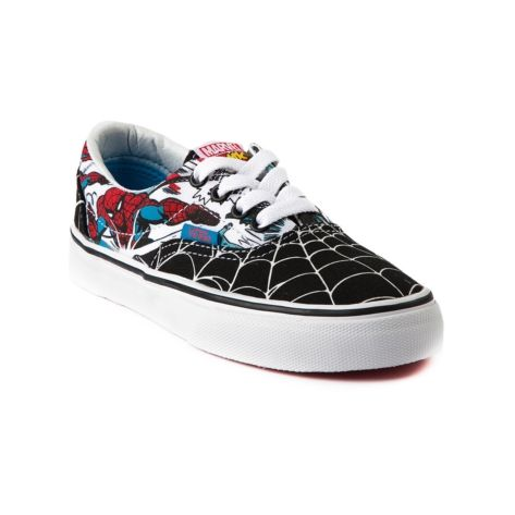 033a90752ee Shop for Youth Vans Era Spider-Man Skate Shoe in Black at Journeys Kidz.  Shop today for the hottest brands in mens shoes and womens shoes at