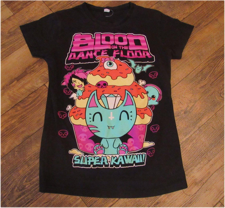 Blood On The Dance Floor Super Kawaii Size Large T Shirt