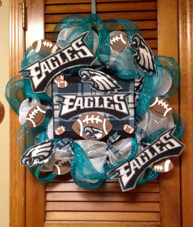 Sandy's Eagles Wreath