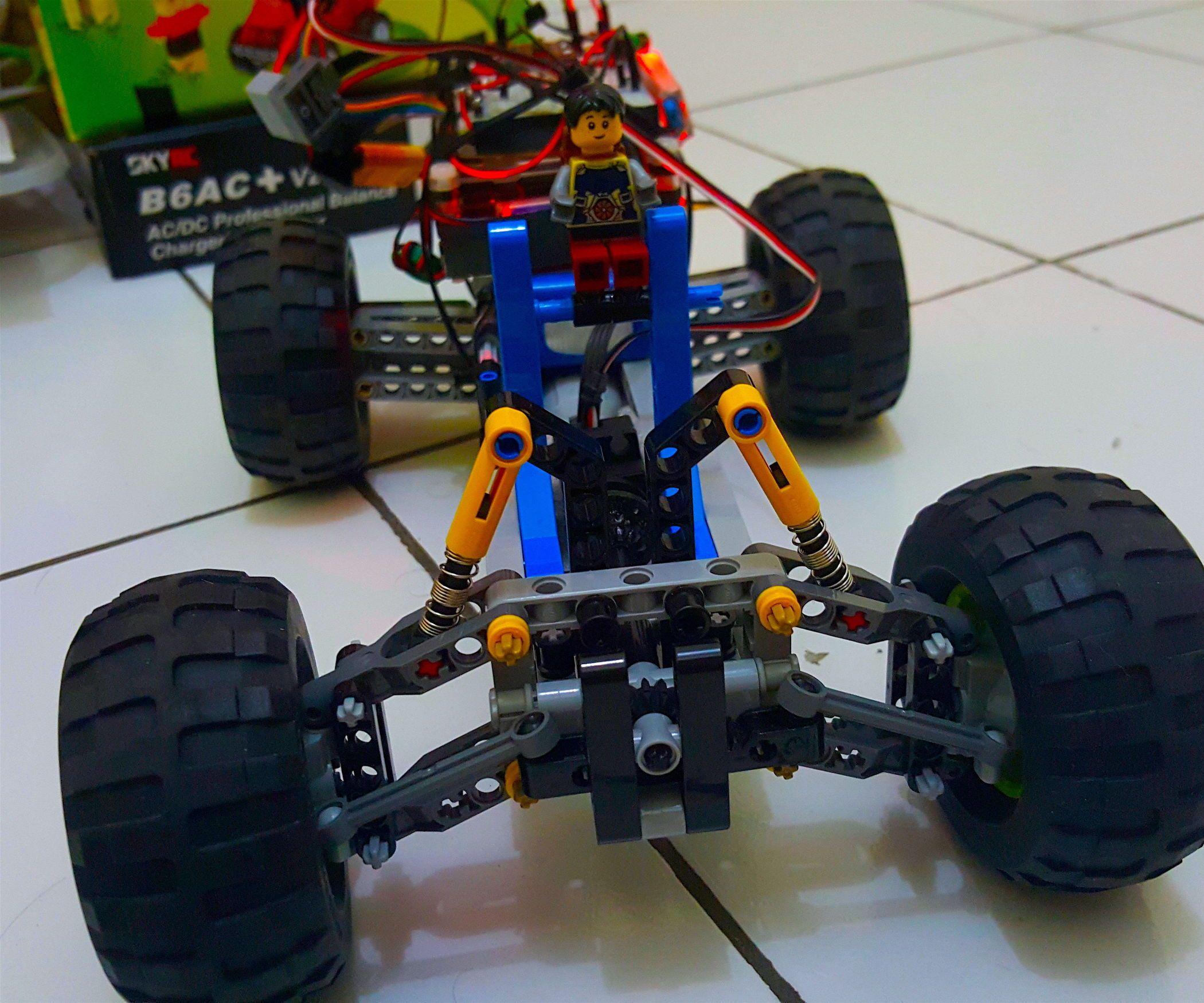 DIY Control Offroad Lego Car Through (IoT