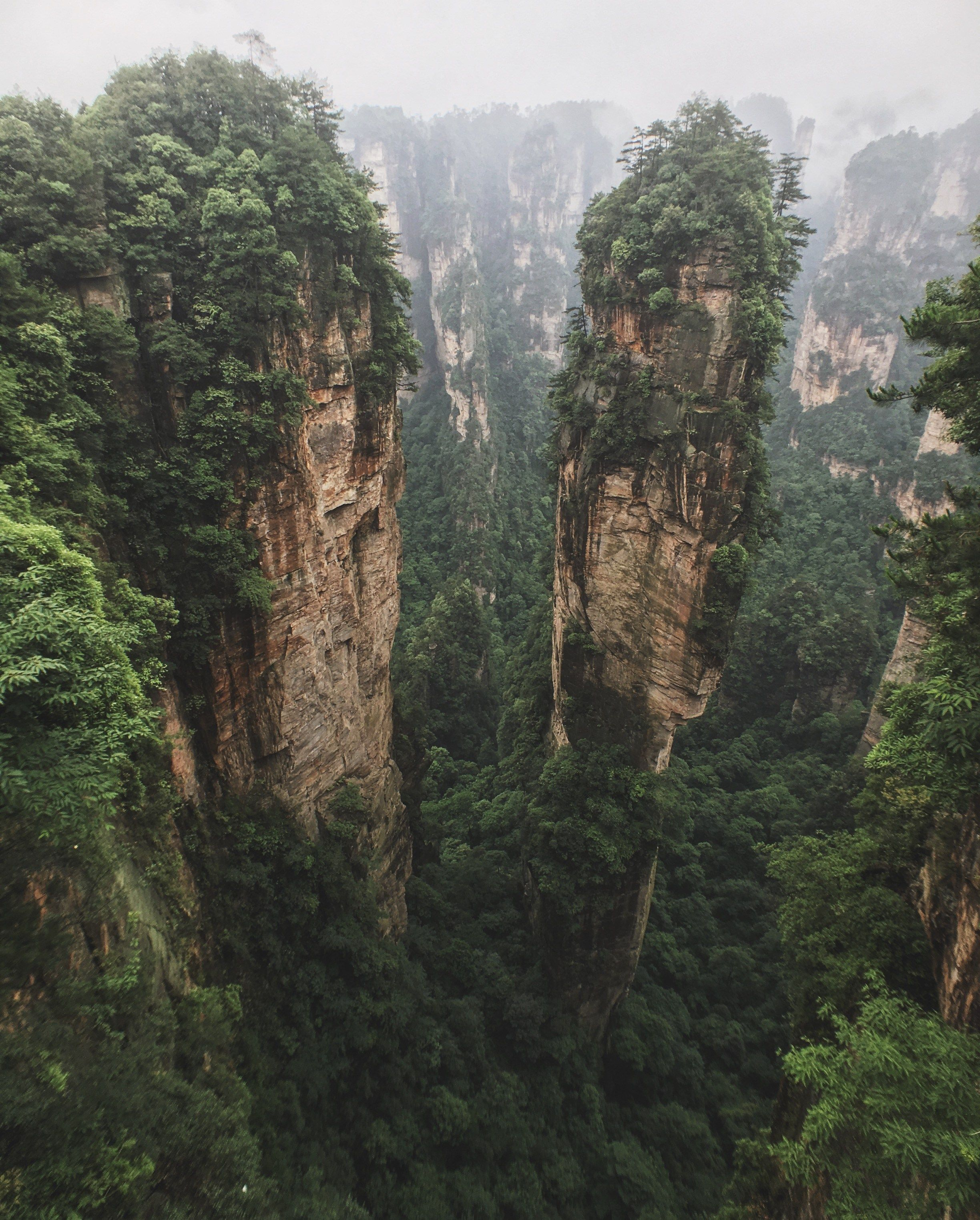 zhangjiajie national forest park fly me away