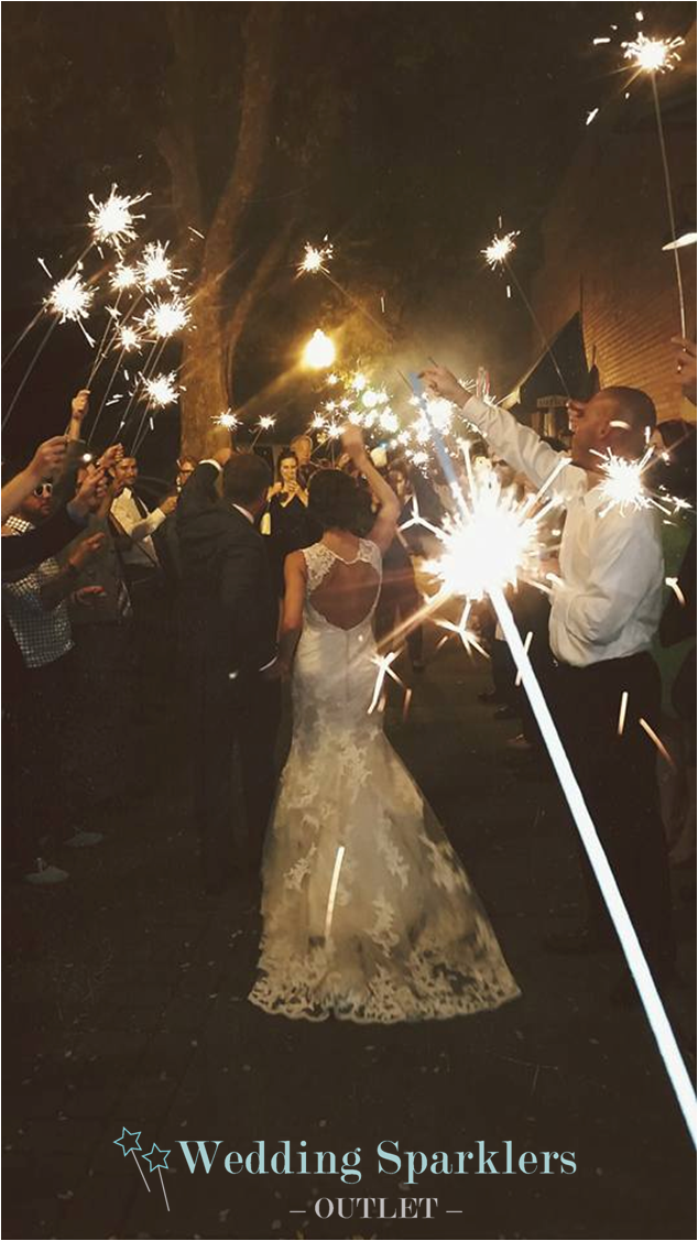 Shop Wedding Sparklers Outlet for the perfect wedding send off! Long ...