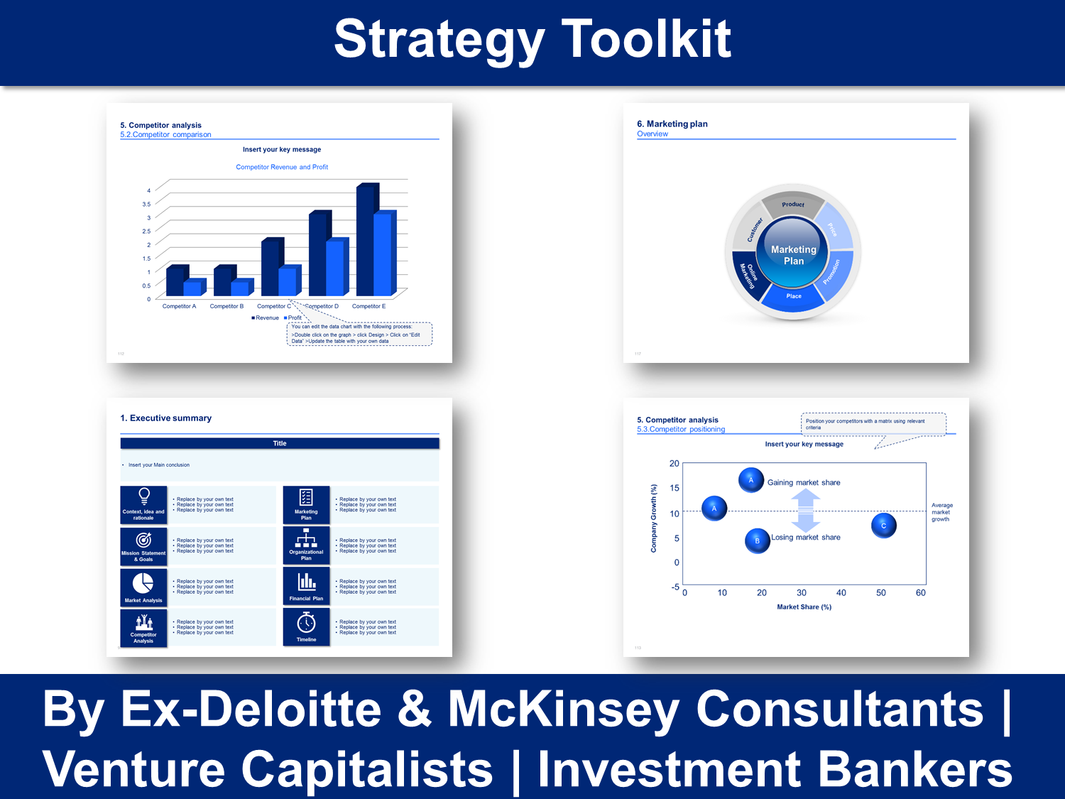 Strategy Toolkit In Powerpoint Excel By Ex Mckinsey