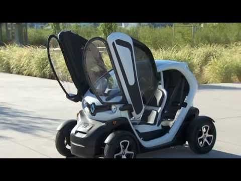 Renault 트위지 영상 - YouTube   르노 삼성 .  르노 초소형   전기차량.