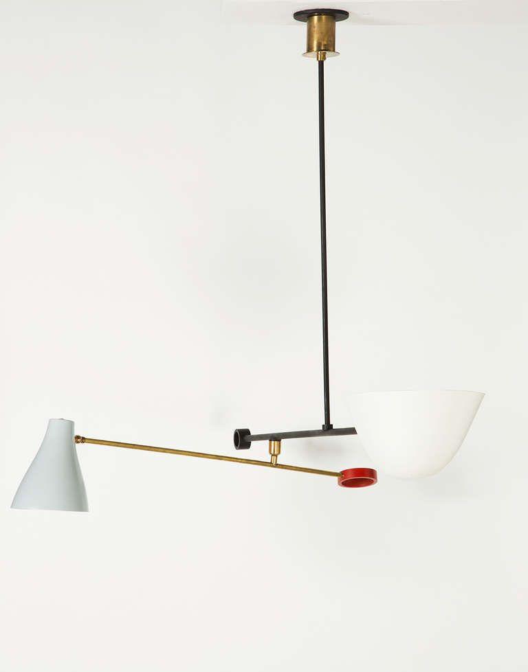 Office Light Fixture Option Italian Counterbalance Ceiling Light
