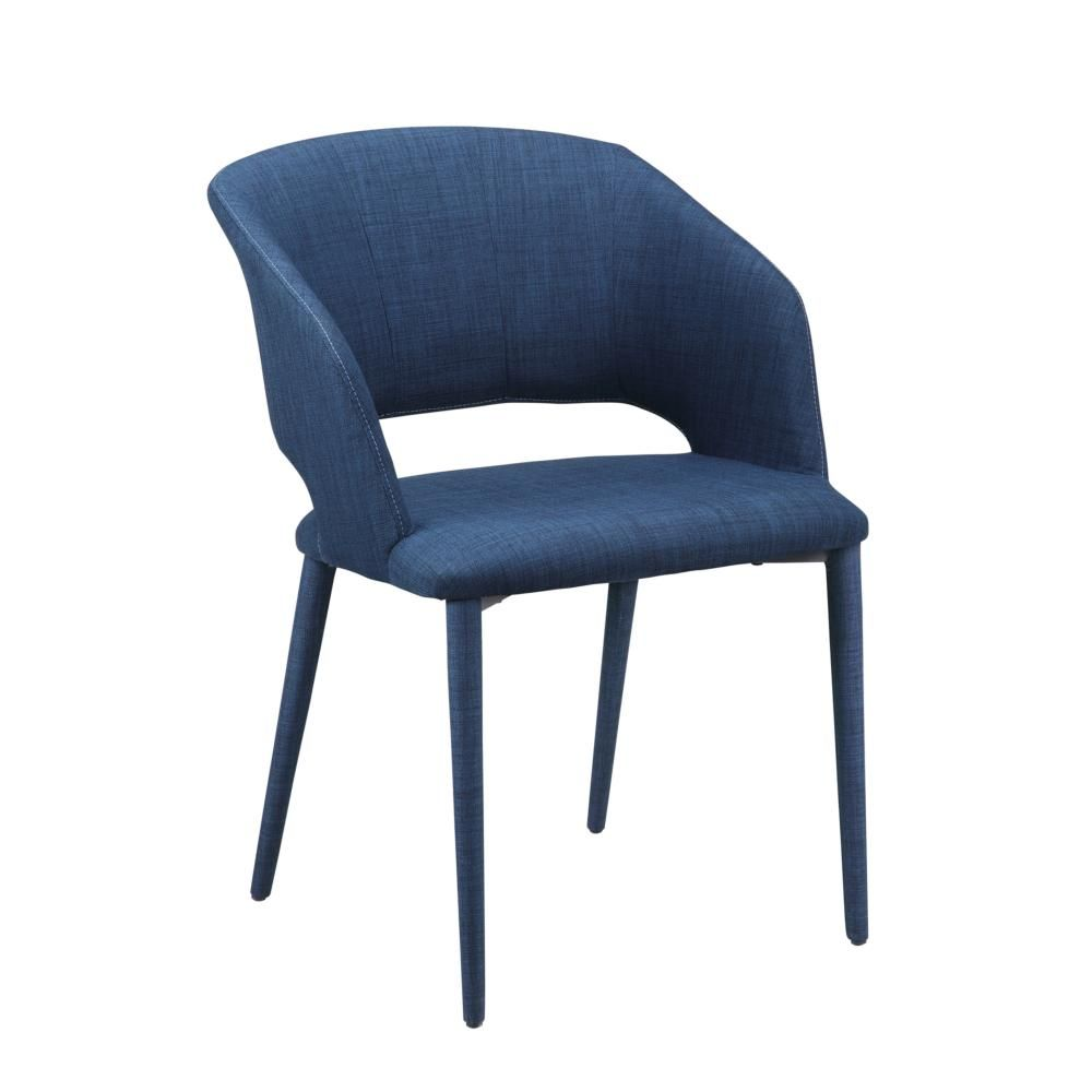 William Dining Chair Navy Blue | Traditional Hotel | Pinterest