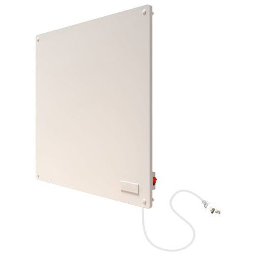 Econo Heat Wall Panel Ceramic Heater White Larger Front