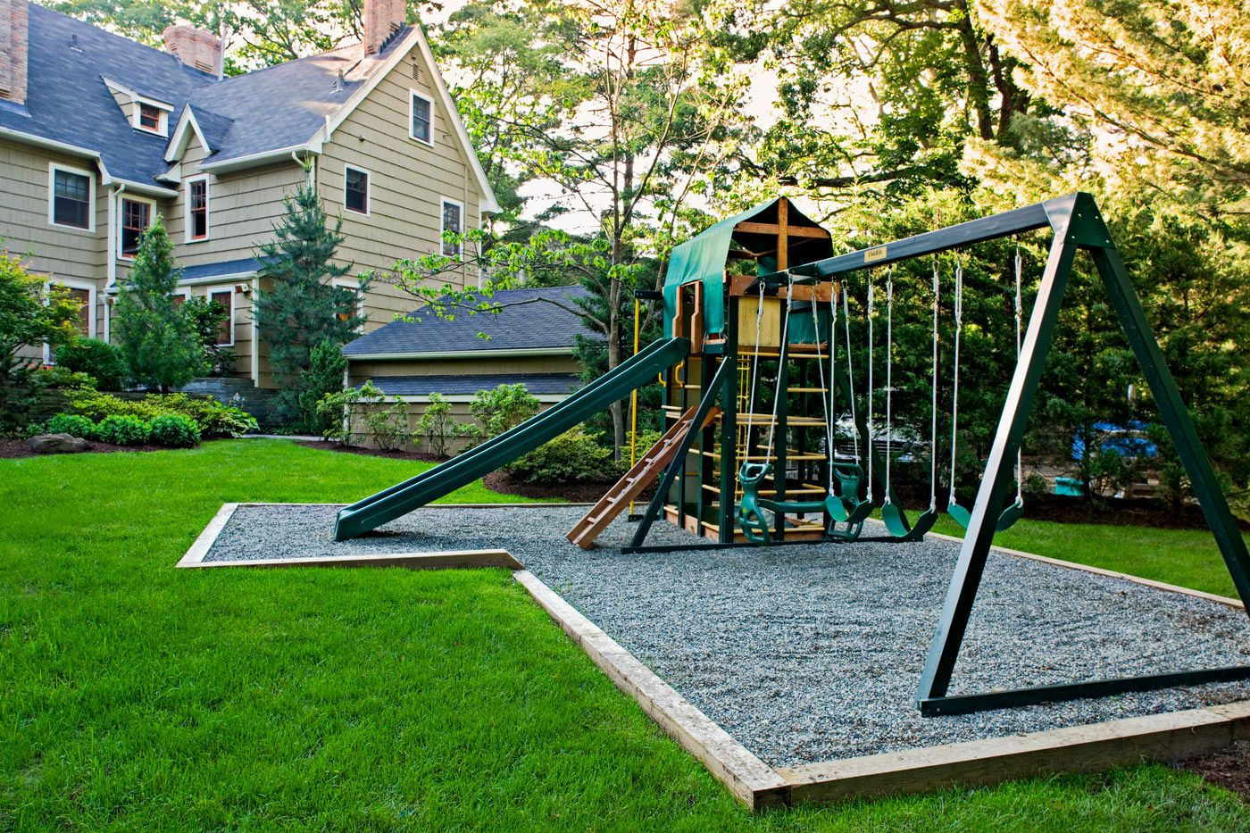 Backyard Playground Landscape Design Ideas - http ...