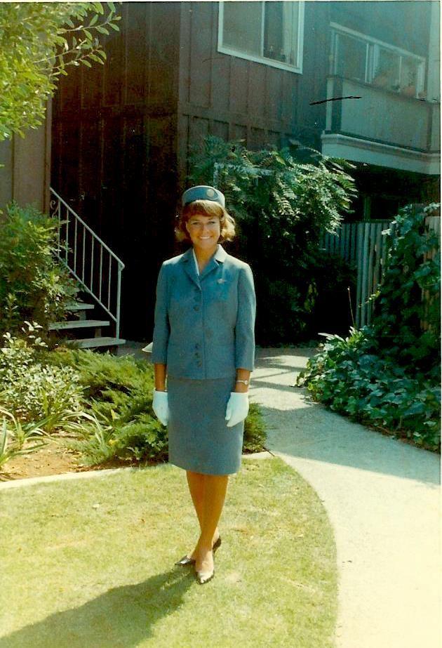 Pan Am Stewardess Martie Binkley