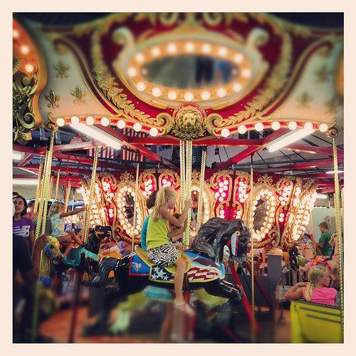 Merry Go Round Ride Arcade Boardwalk Rehoboth Beach Delaware Summer Vacation S Img 9147