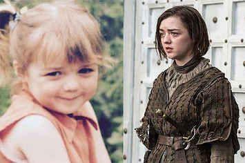 Fotos del elenco de Game of Thrones cuando eran jóvenes