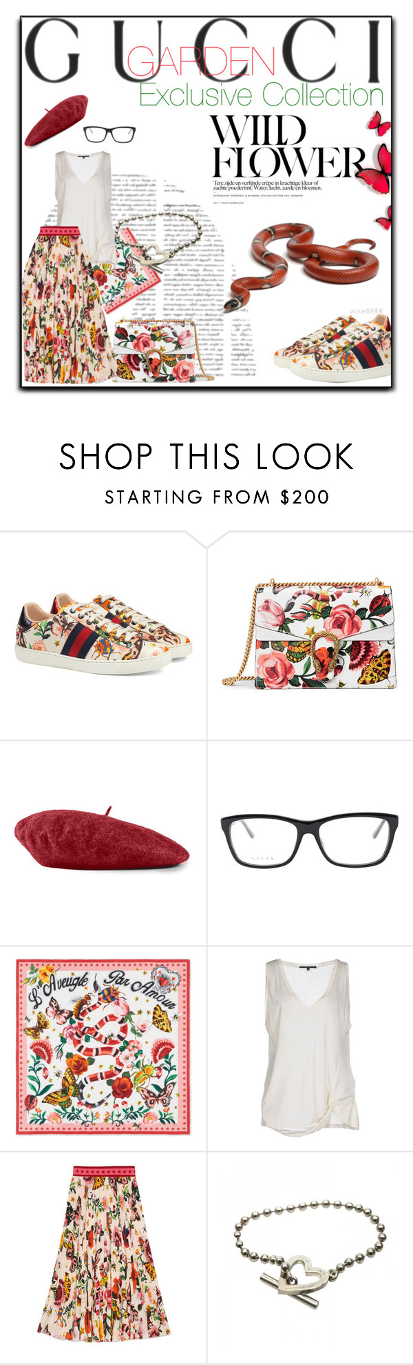 """""""Presenting the Gucci Garden Exclusive Collection: Contest Entry"""" by iv-gromova ❤ liked on Polyvore featuring Gucci, Traits and gucci"""