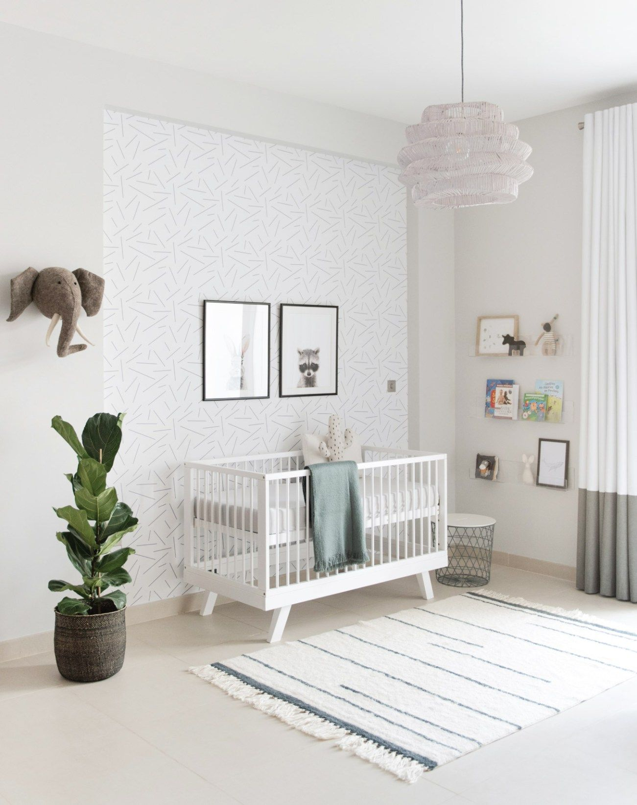 Baby Boy Nursery In Shades Of Grey  House Of