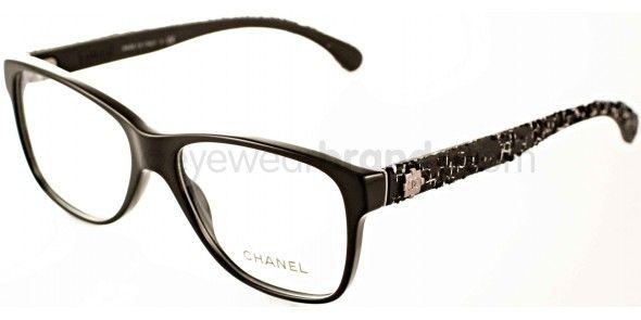 4ac9924936 Chanel CH 3245 Chanel CH3245 501 Black Chanel Glasses