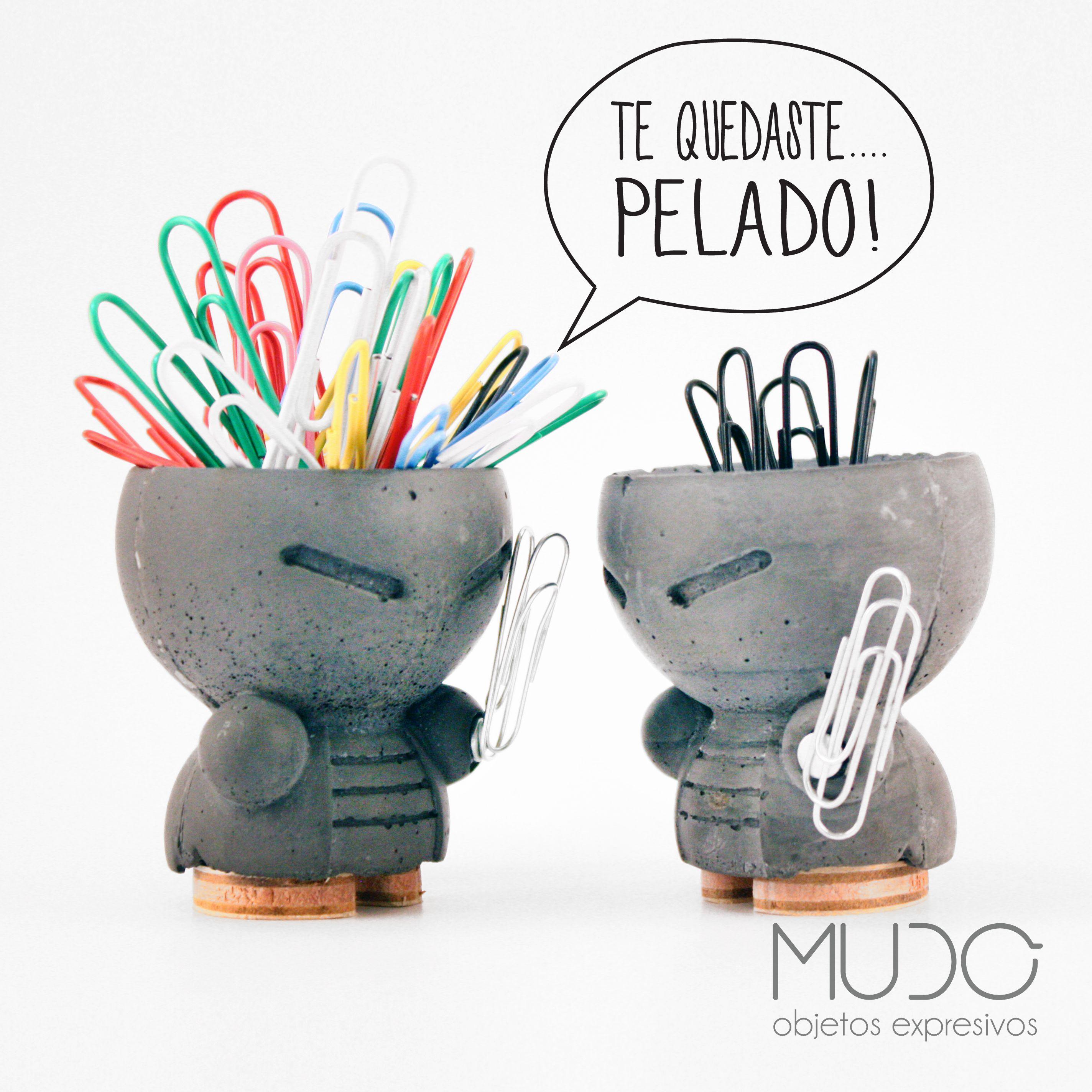 ▶▶ Ay Ay Ay MARIO !! ◀◀ GUERREROS ORGANIZADORES DE ESCRITORIO // MUDO Objetos Expresivos// Objetos de diseño