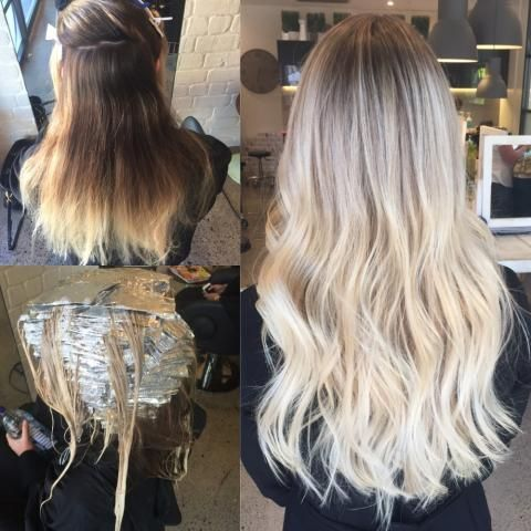 Micro Foiling To Create A Perfect Blonde