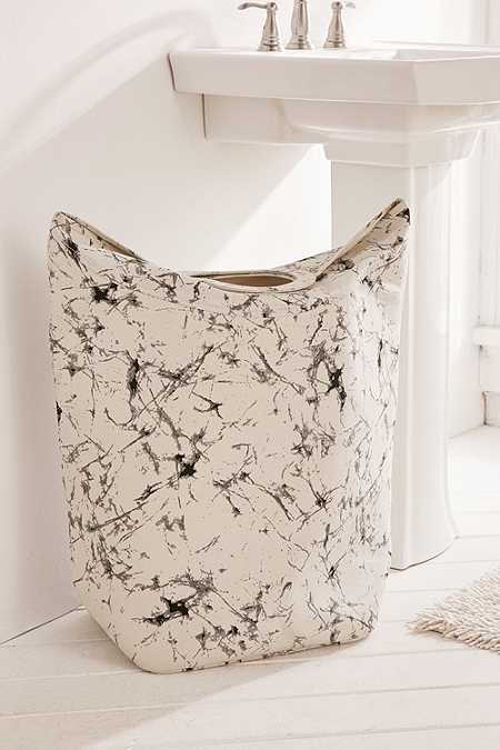 Batik Crackle Standing Laundry Bag Hamper - Urban Outfitters