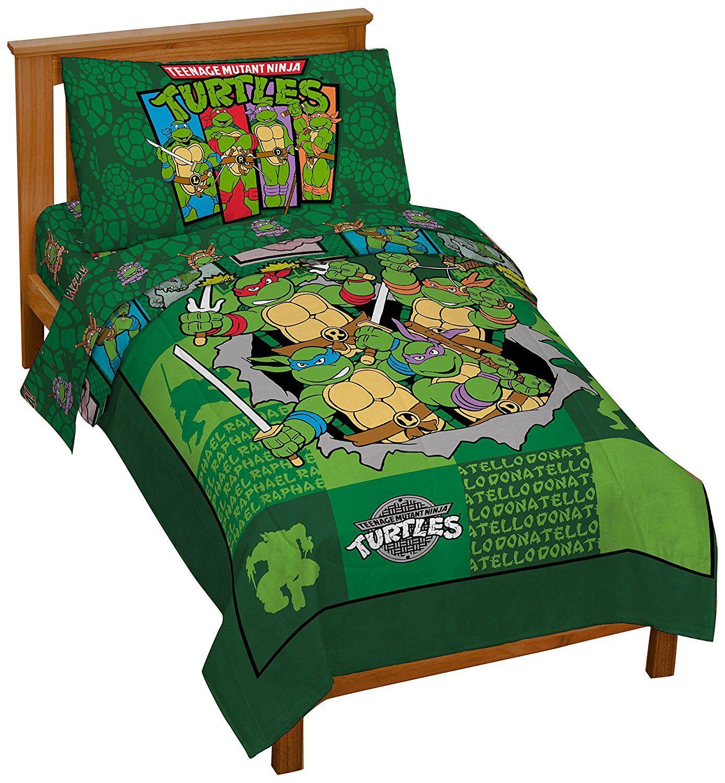 Teenage Mutant Ninja Turtles Convertible Toddler Bed