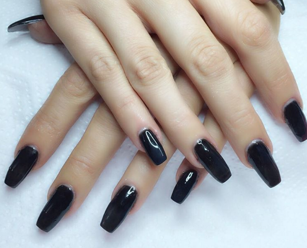 13 Dead Serious Ways To Wear Coffin Nails