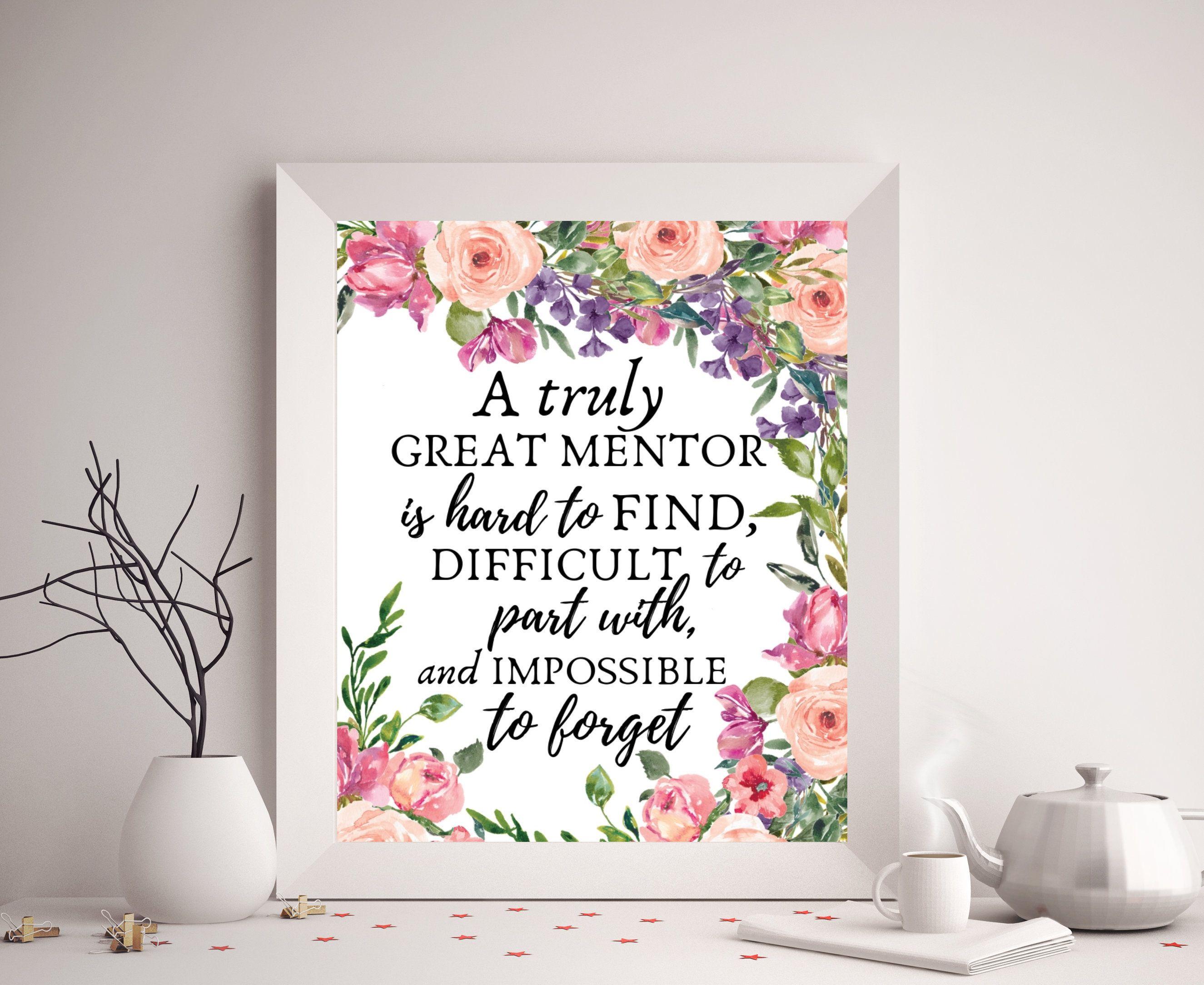 Mentor Gift, Great Mentor Appreciation Gift Idea, Mentor