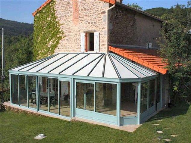 A 24 kms de Roanne, 28 kms de La Palisse,maison en pierre - cuisine dans veranda photo